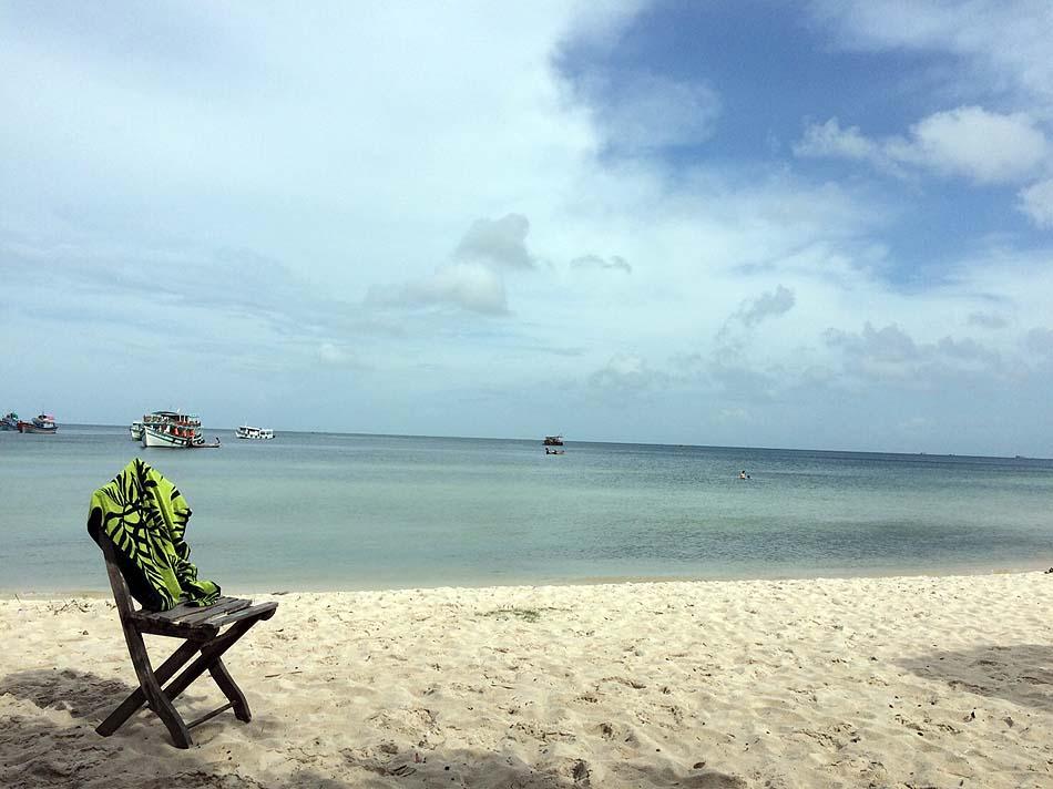 フーコックの海はとにかく綺麗でした